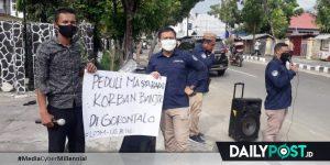 LP3M-UG Galang Dana untuk Korban Banjir Bonebol dan Kota Gorontalo