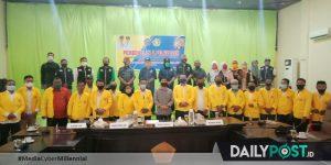 Bersama Rektor, Wakil Bupati Lepas Mahasiswa KKP UG Kelas Kerjasama Kabupaten Pohuwato