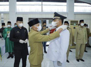 Bupati Surya Lantik49 Orang Pejabat Administrator Pemkab Asahan