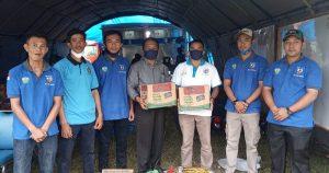 DPD KNPI Salurkan Bantuan untuk Korban Kebakaran di Simeulue