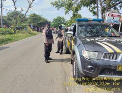 Rutin Patroli SPW Dilaksanakan Polsek Balongan Demi Menjaga Keamanan dan Ketertiban Kamtibmas