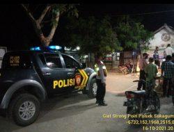 Polsek Sukagumiwang Menggelar Giat Patroli SPW Dalam Rangka Antisipasi Tindak Kejahatan