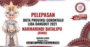 Mohon Doa & Dukungan, Rindi Batalipu Perwakilan Gorontalo Siap Berlaga di Panggung Audisi LIDA 2021