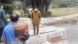 Bupati Nelson Tinjau Sejumlah Progres Pembangunan Infrastruktur di Kecamatan Mootilango: Capai 60 Persen