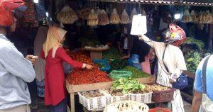Jelang Ramadhan 1442 Hijriah, Daya Beli di Pasar Kota Sinabang Menurun Drastis