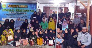 Keluarga Keturunan Almarhum Yacob Busura Bukber di panti Asuhan Safaz'Ain'