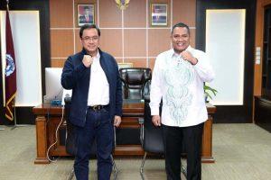 Ketua BPK RI Jalin Silaturahmi dengan Jajaran Civitas Akademika UNG