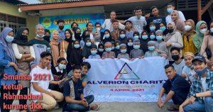 "Peduli Anak Yatim, Alverion Charity Smansa Gorontalo Kunjungi Panti Asuhan SAFAZ""AIN"""