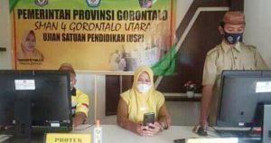 SMA Negeri 4 Gorontalo Utara Gelar Ujian Satuan Pendidikan