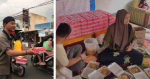 Komunitas Insan Muda Safaz'Ain' Berbagi Takjil dan Bukber dengan Masyarakat Dembe II dan Moodu