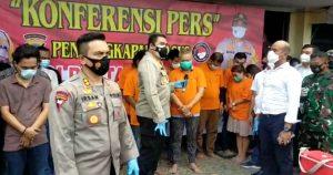 Razia KTV Bosque, Polrestabes Medan Amankan Sekda Nias